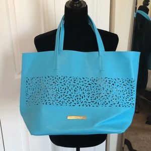 Vince Camuto Large Blue Tote